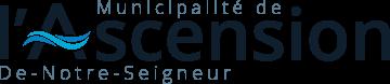 Logo de la municipalité de l'Ascension-de-Notre-Seigneur