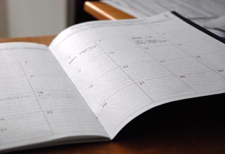 Calendrier des séances et procès verbaux